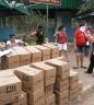 Camilo dos Santos apoia ação solidária e entrega 130 cestas básicas